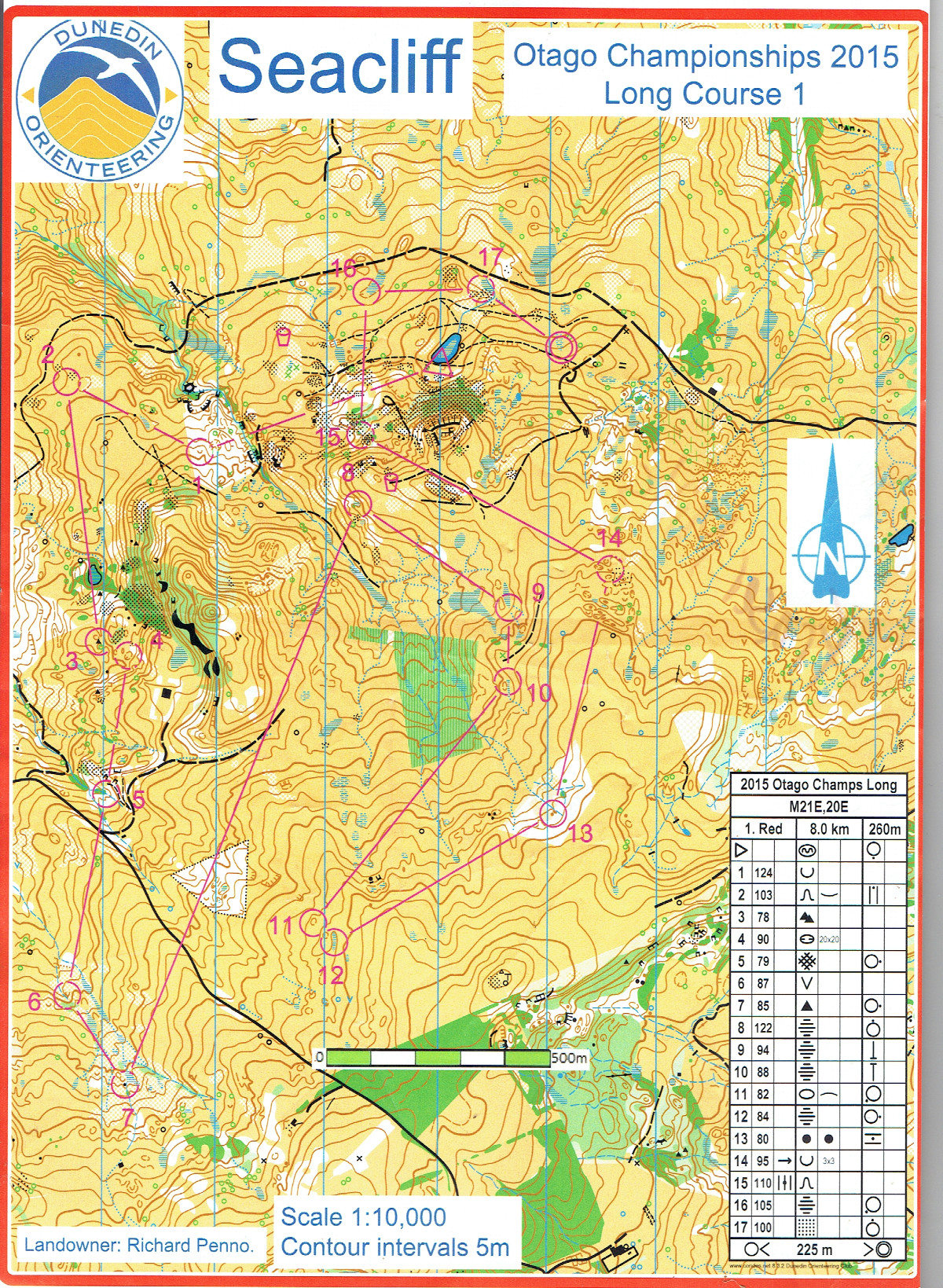 Otago Champs Long 2015 (26/04/2015)